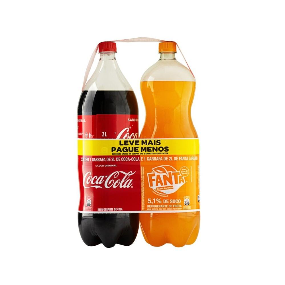 Pack de refrigerantes 2x2l