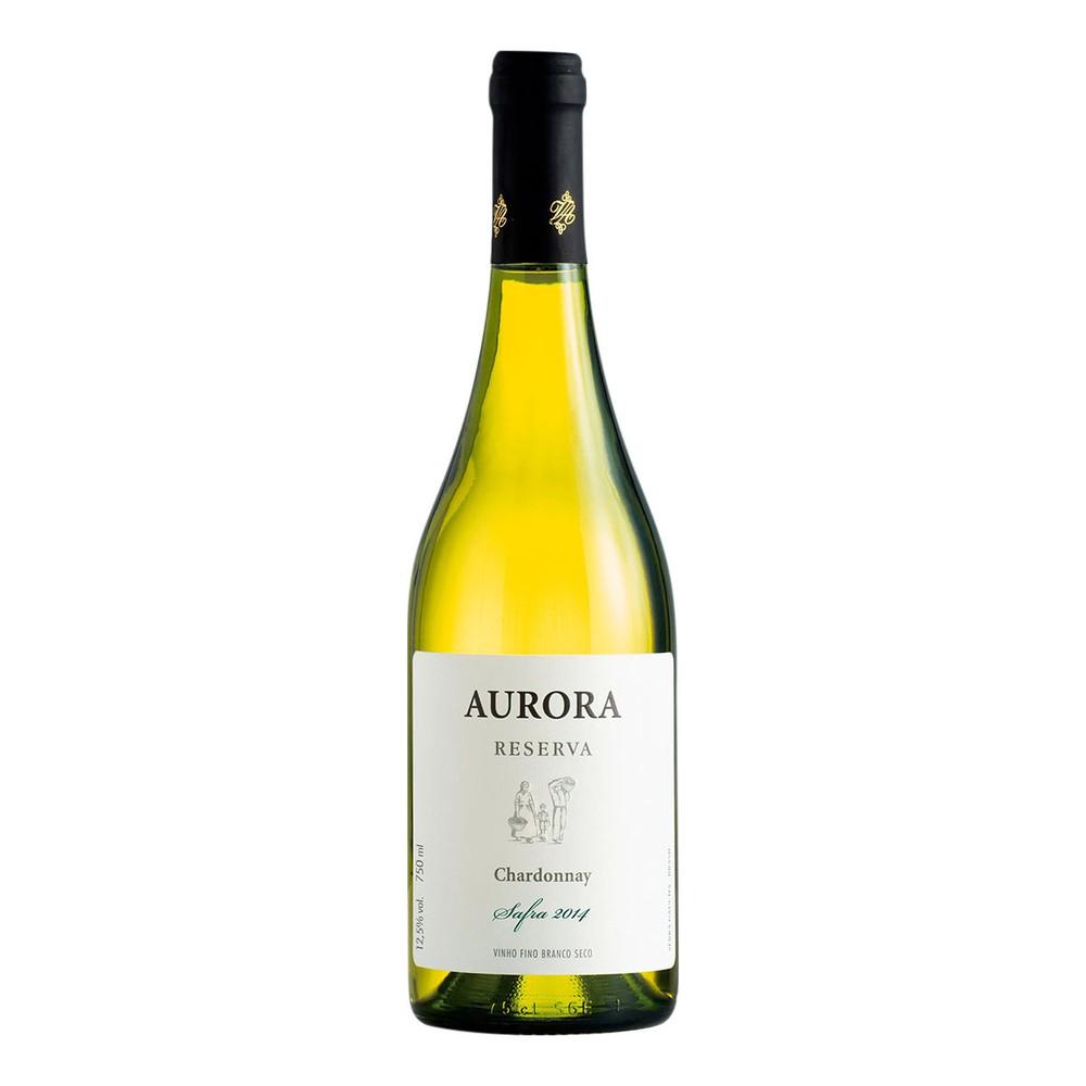 Vinho Branco Seco Aurora 2014 Chardonnay 750ml