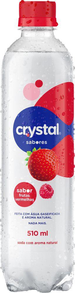 Água gaseificada Sparkling frutas vermelhas