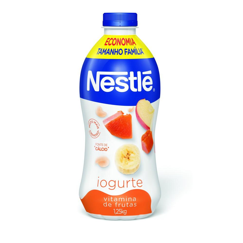 Iogurte vitamina de frutas