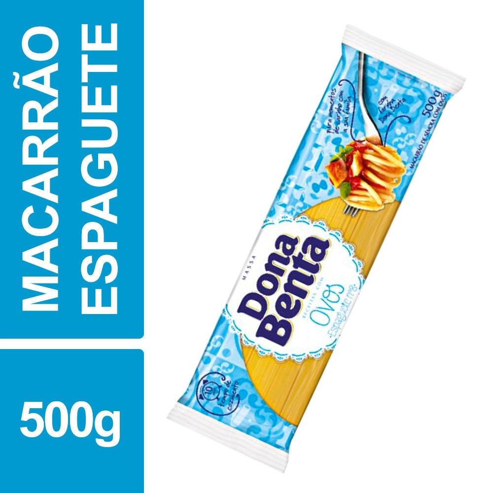 Macarrão espaguete n°8 500g