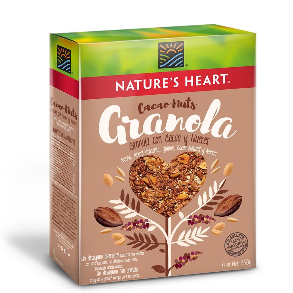 Granola choco nueces