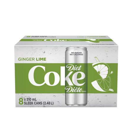 Ginger Lime 310mL Cans, 8 Pack
