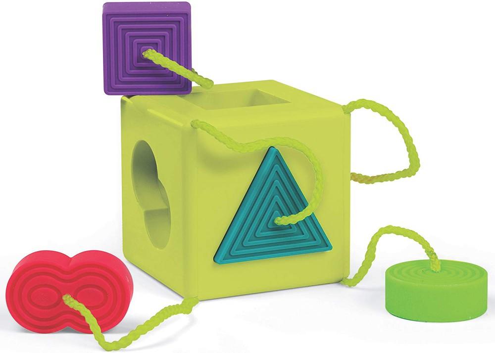 Oombeecube - cubo de clasificación para bebés 11,4 x 12,2 x 12,2 cm