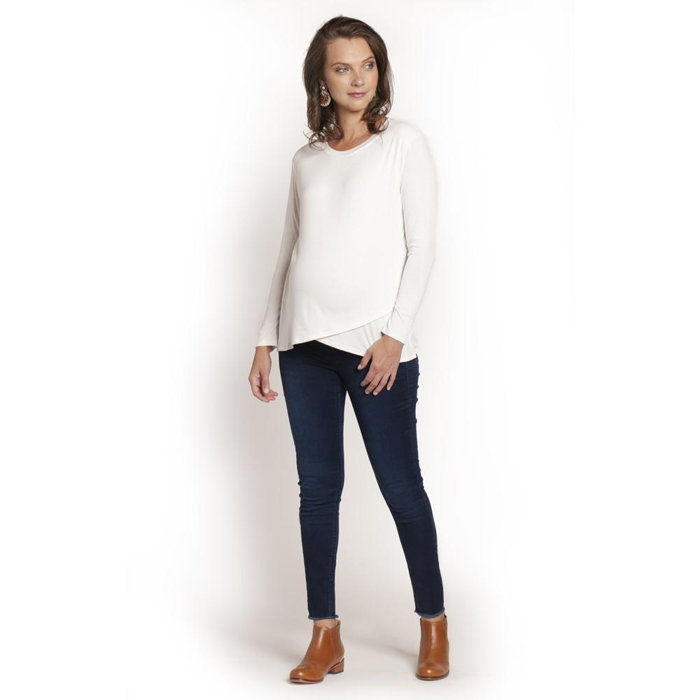 Jeans loreto tajalí azul oscuro 42