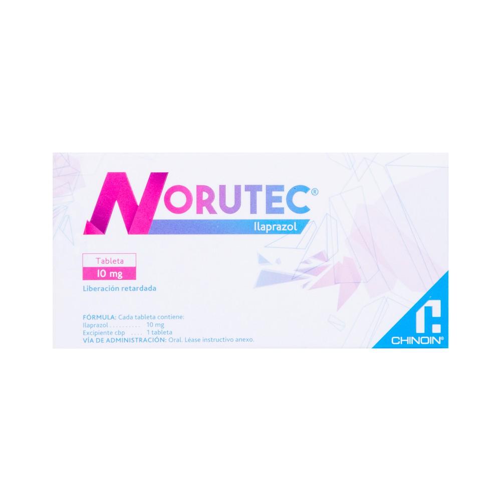 Norutec ilaprazol tabletas 10 mg