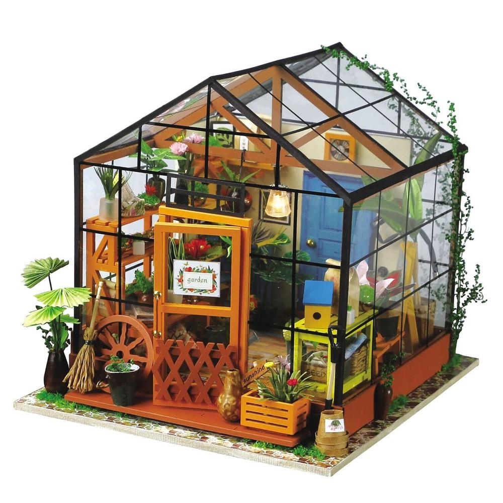 Puzle maqueta 3d diy Kathy's green house