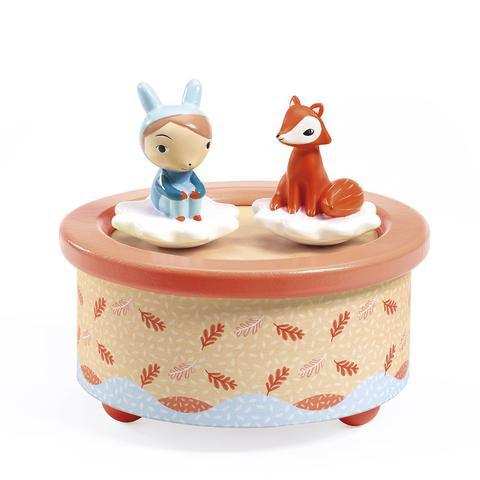 Caja musical magnética - fox melody