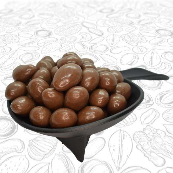 Almendra con chocolate de leche