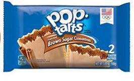 Pop-tarts sabor canela