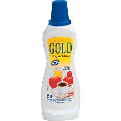 Adoçante líquido aspartame 65ml