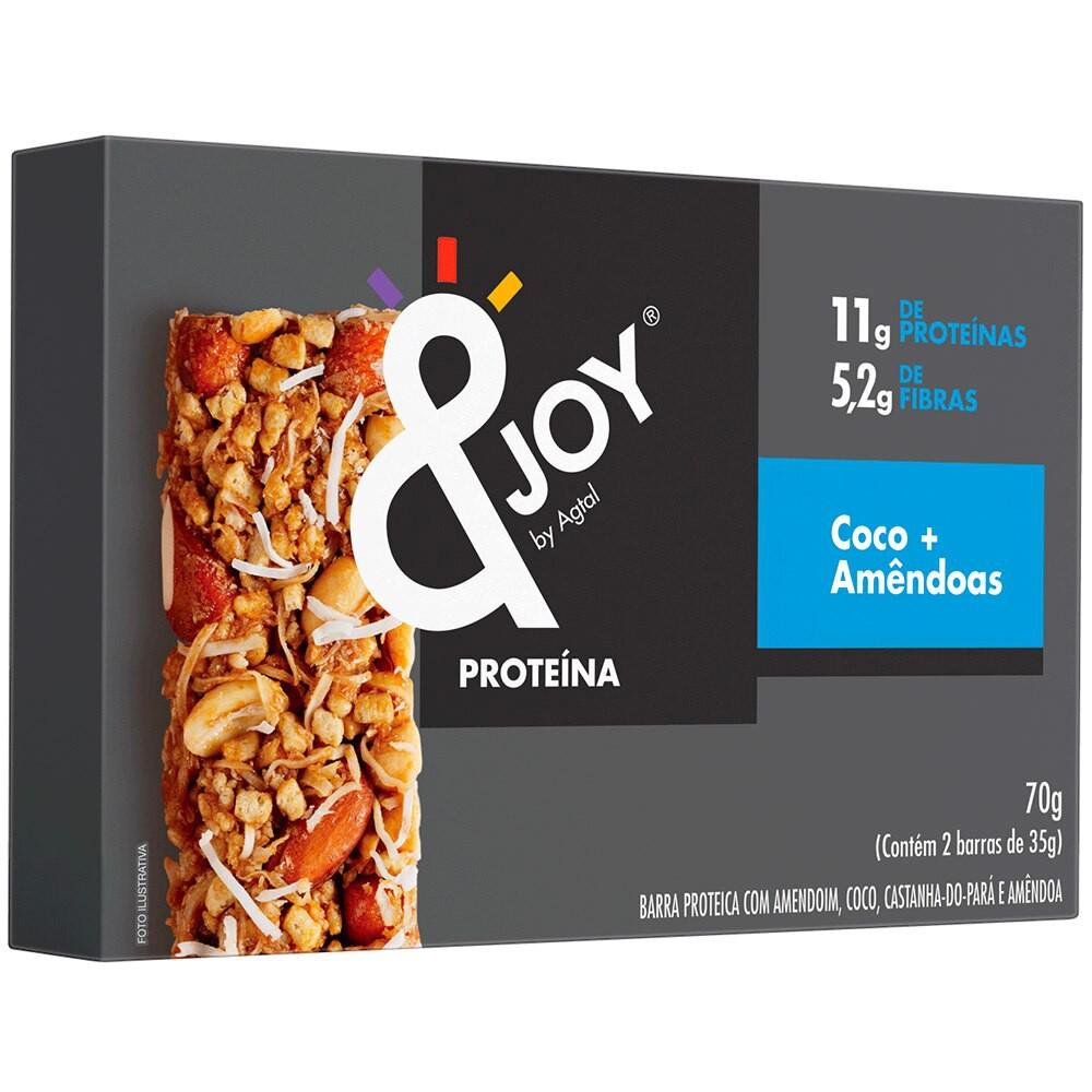 Barra de Cereais com Coco e Amêndoas Protein Nuts