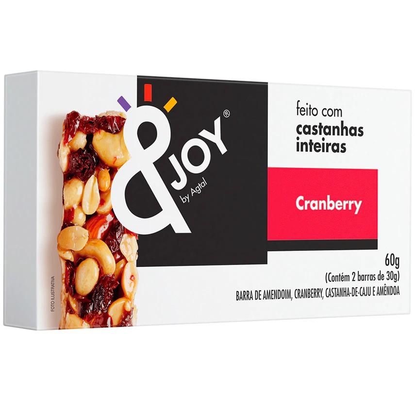 Barra de cereais mixed nuts cranberry &Joy
