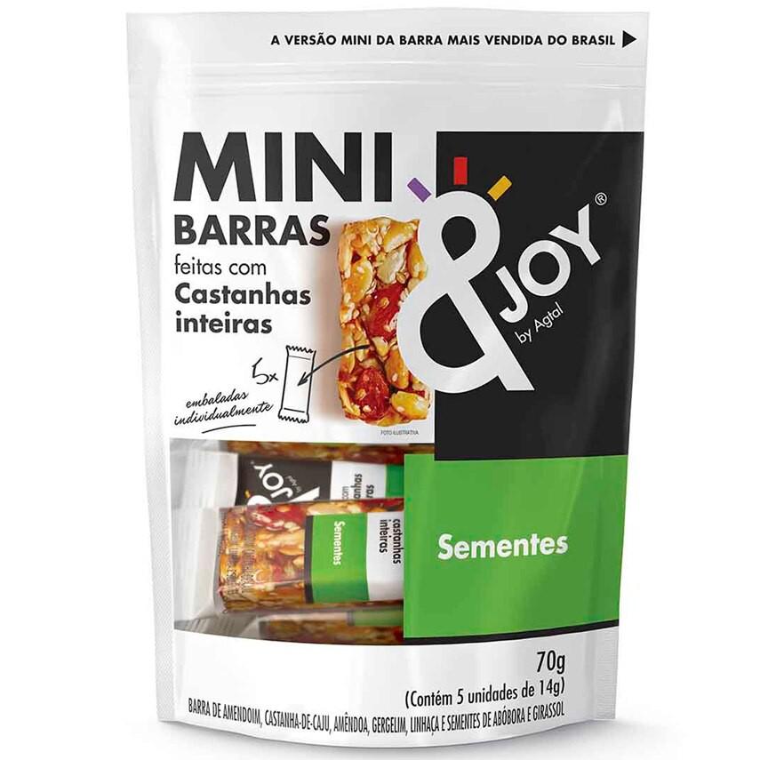 Barra de Cereal Mini Sementes &Joy