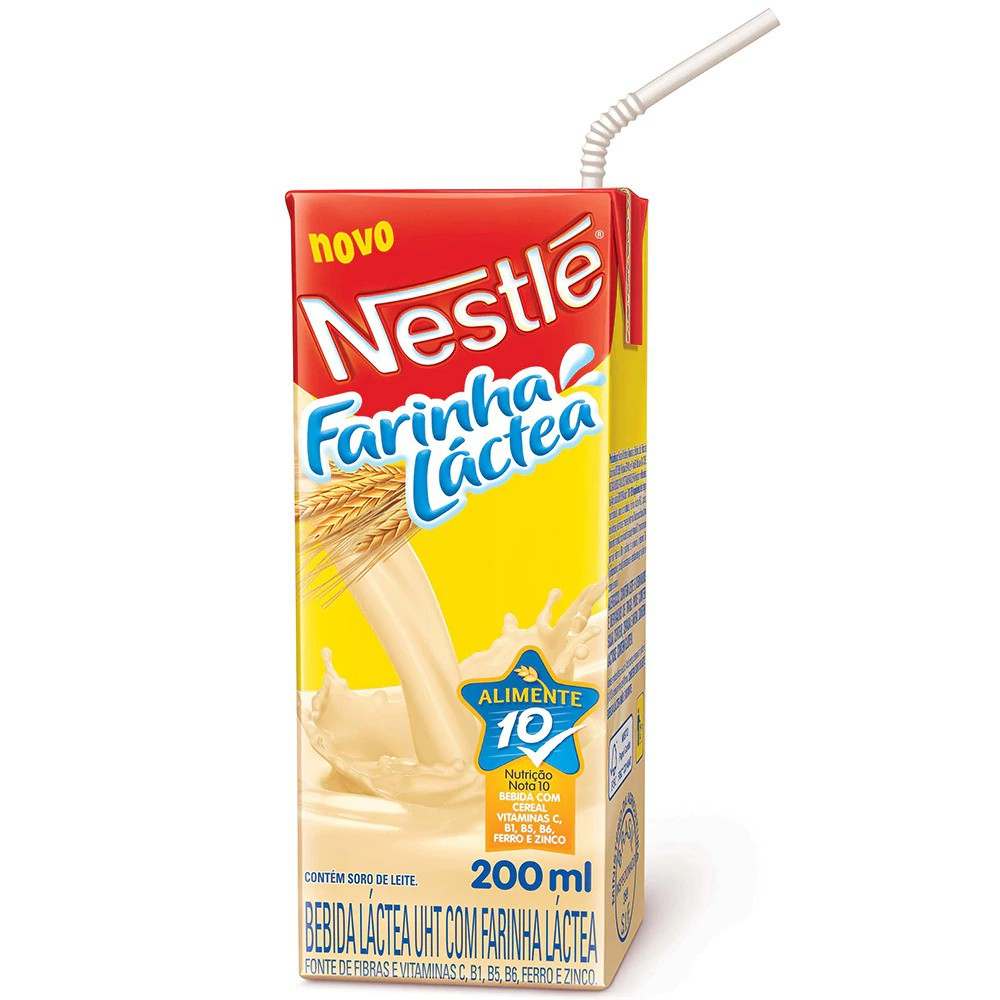 Farinha láctea para beber