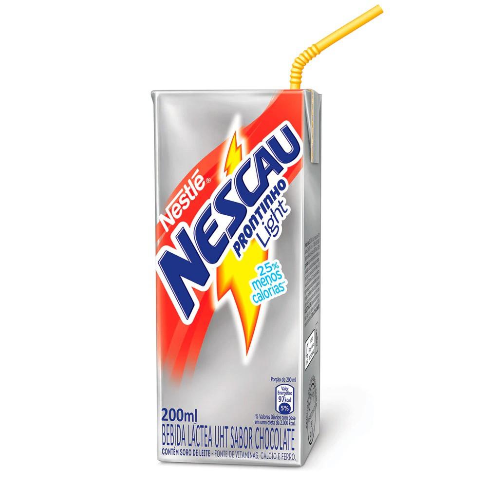 Bebida Láctea Light Nescau