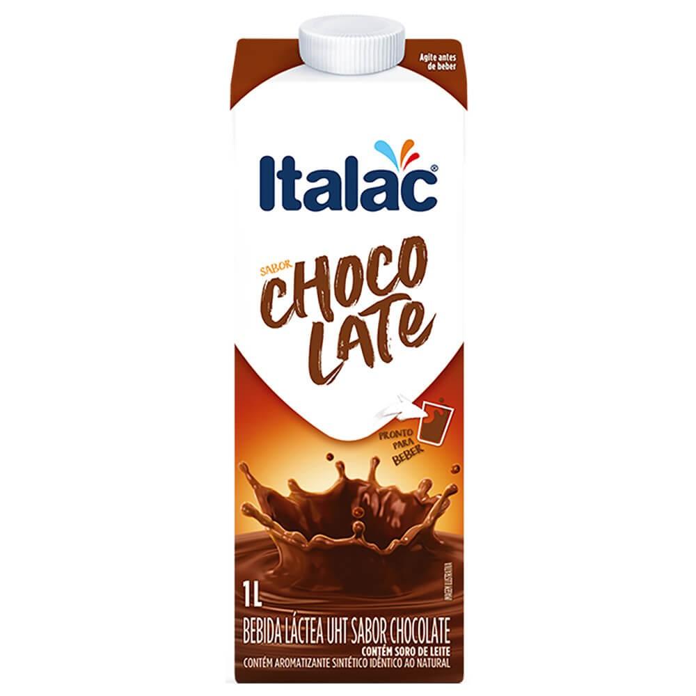 Bebida láctea sabor chocolate