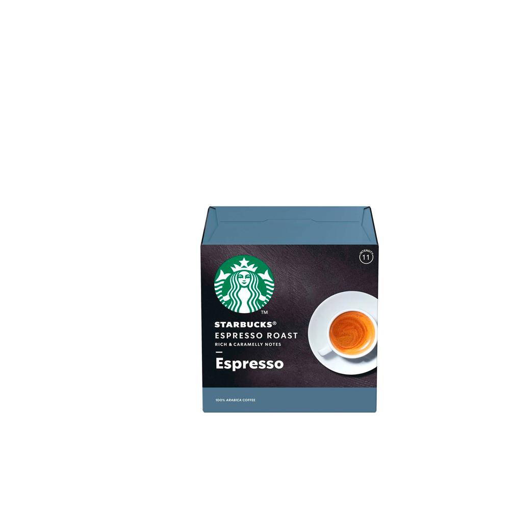 Café Espresso Roast Starbucks by Dolce GustoCápsulas