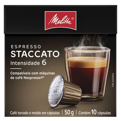 Café em cápsula espresso Staccato intensidade 6