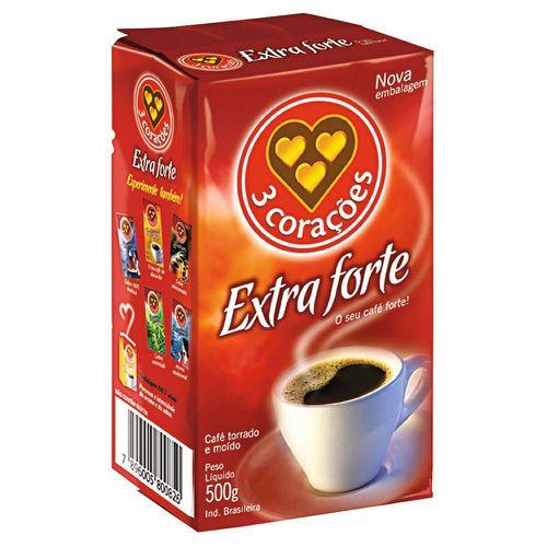 Café extra forte a vácuo