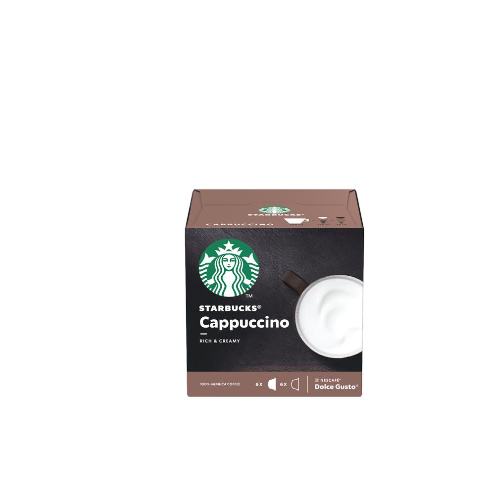 Café Cappuccino Starbucks by Dolce GustoCápsulas