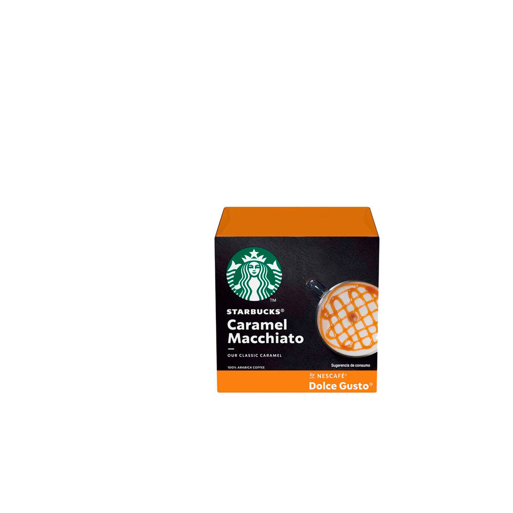 Café Caramel Macchiato Starbucks by Dolce GustoCápsulas