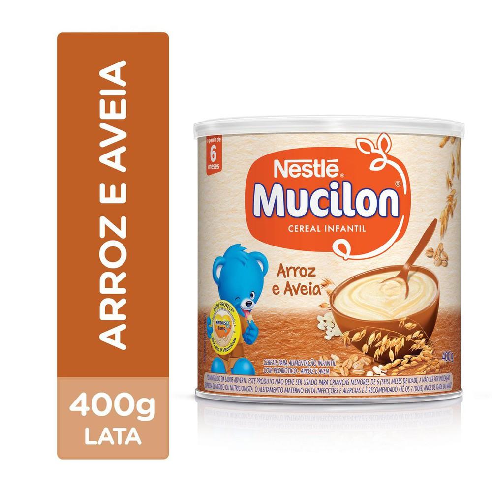 Cereal Mucilon de Arroz com Aveia