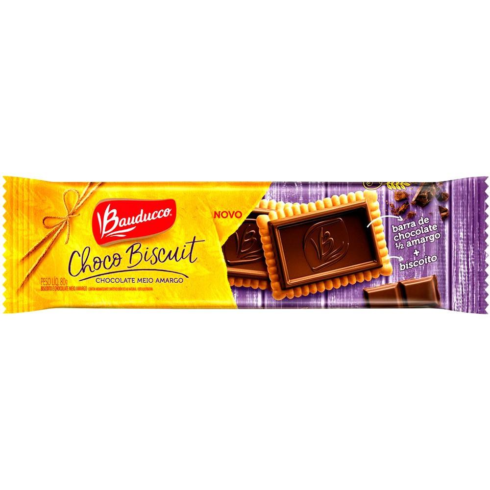 Biscoito choco biscuit chocolate meio amargo