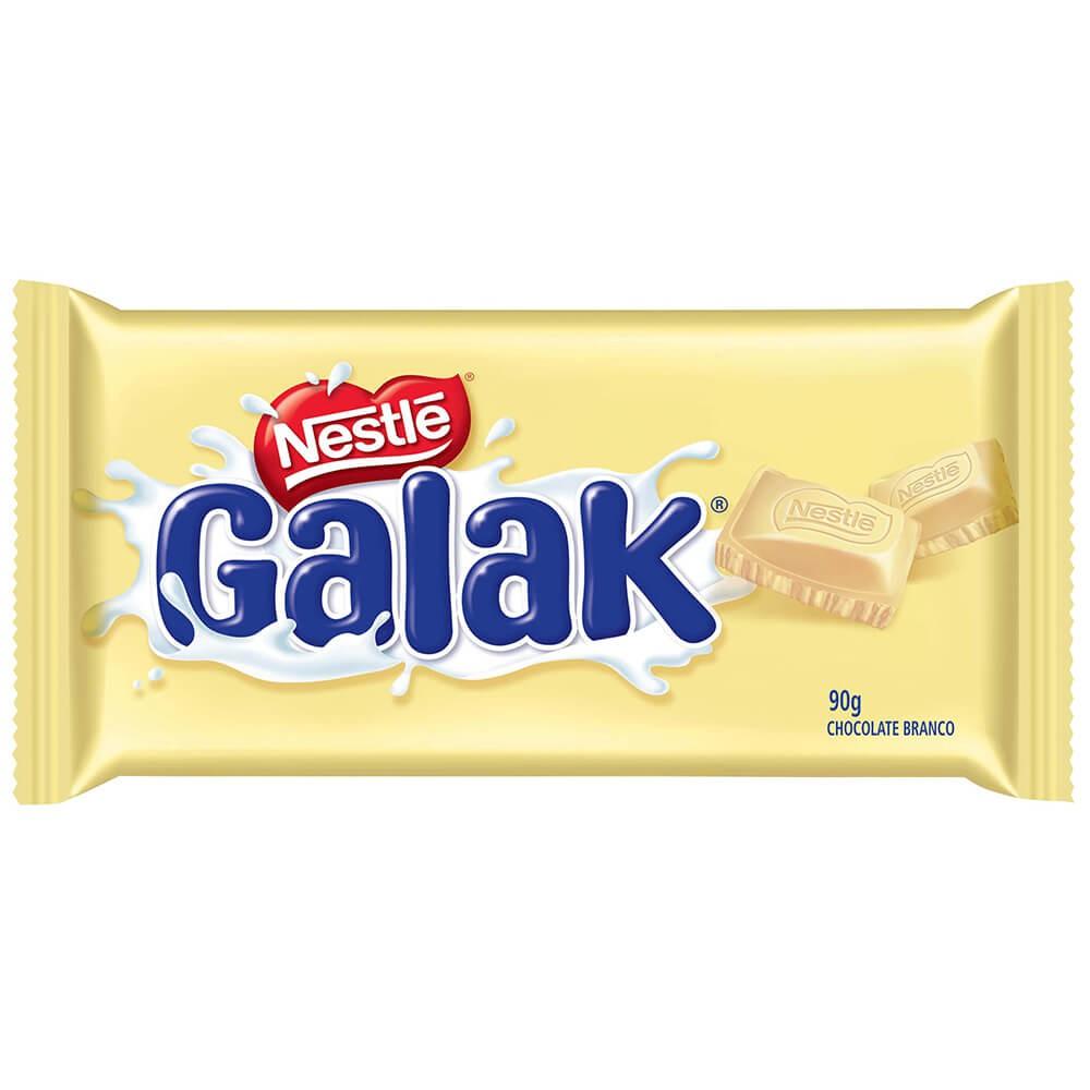 Chocolate branco Galak