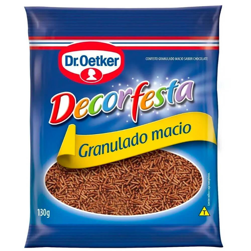 Chocolate granulado macio