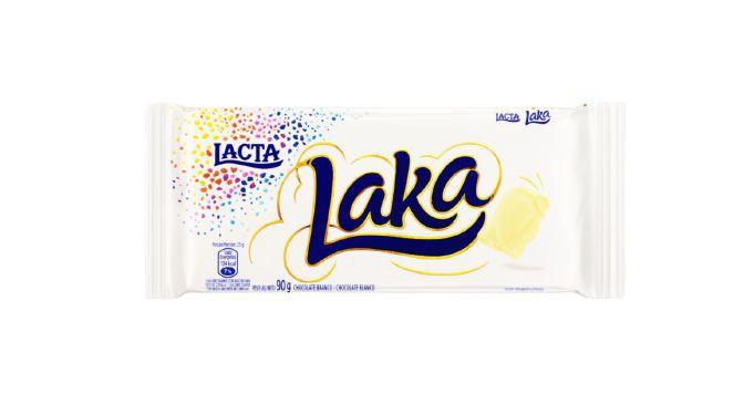 Chocolate branco Laka