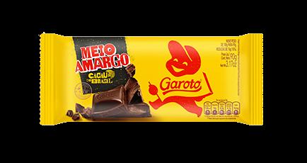 Chocolate meio amargo