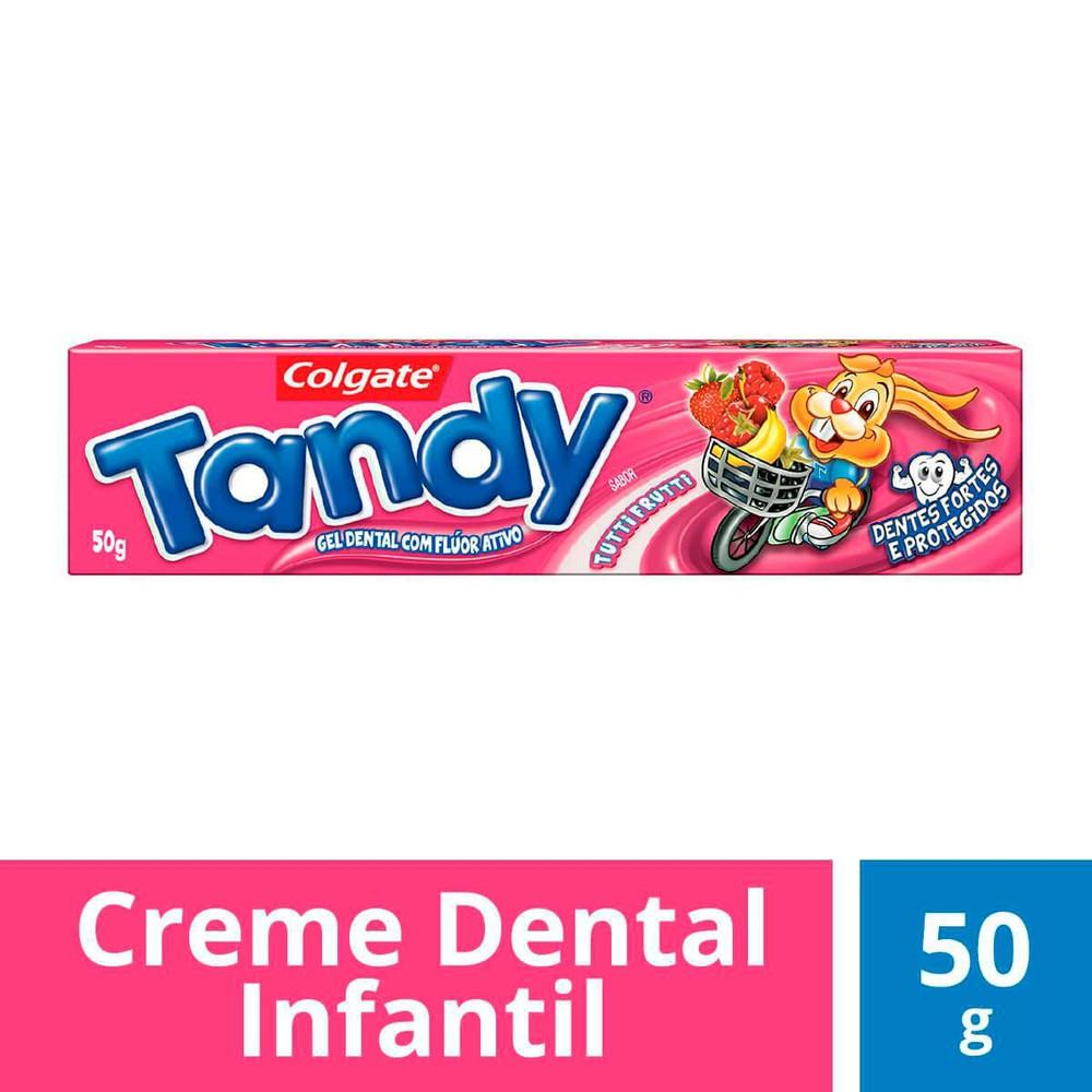 Creme dental Tandy infantil tutti frutti