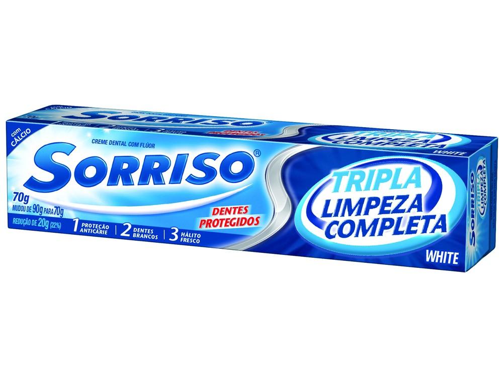 Creme Dental Limpeza Completa