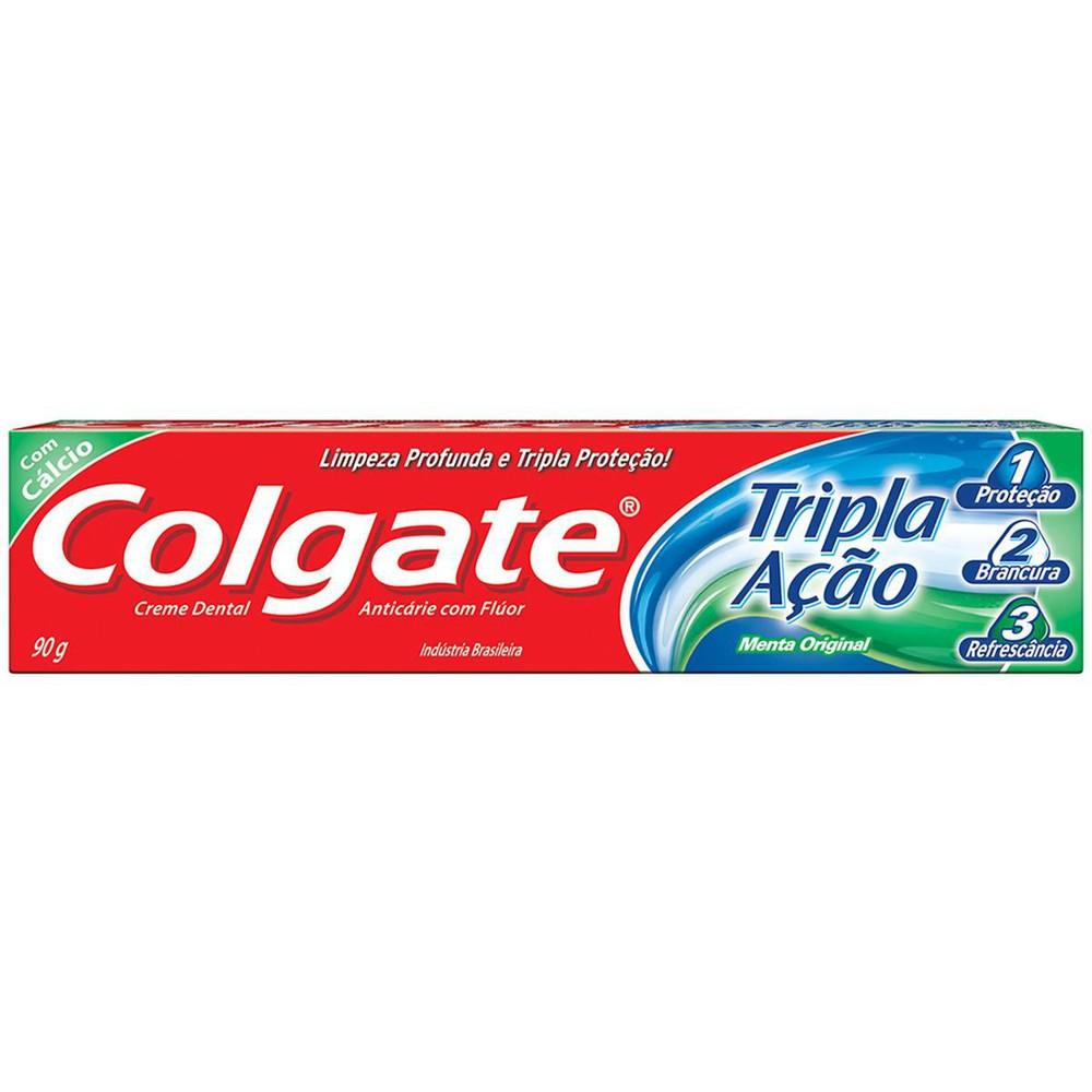 Creme Dental Tripla Ação Menta Original