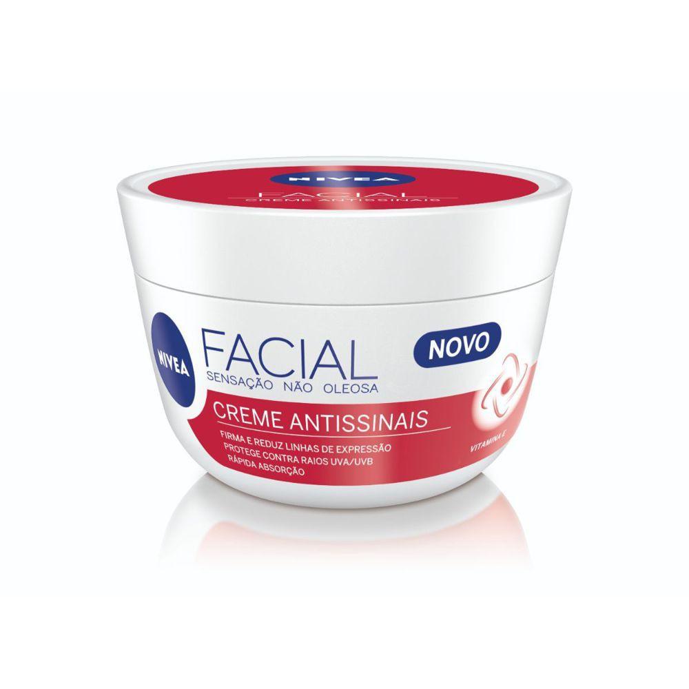 Creme facial antissinais 100g