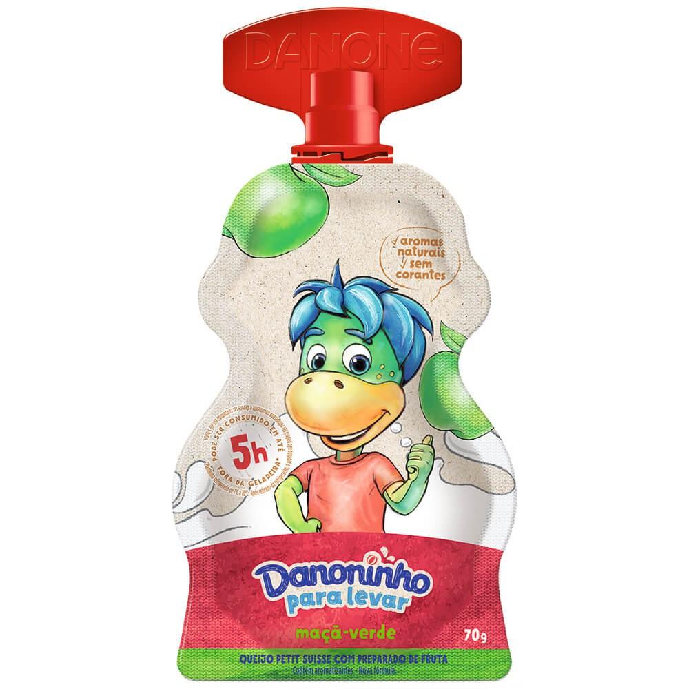 Iogurte infantil para levar maçã verde Danoninho