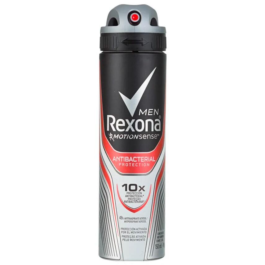 Desodorante aerosol antibacteriano men