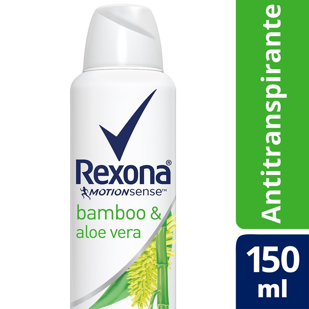 Desodorante Aerosol Bamboo e Aloe Vera