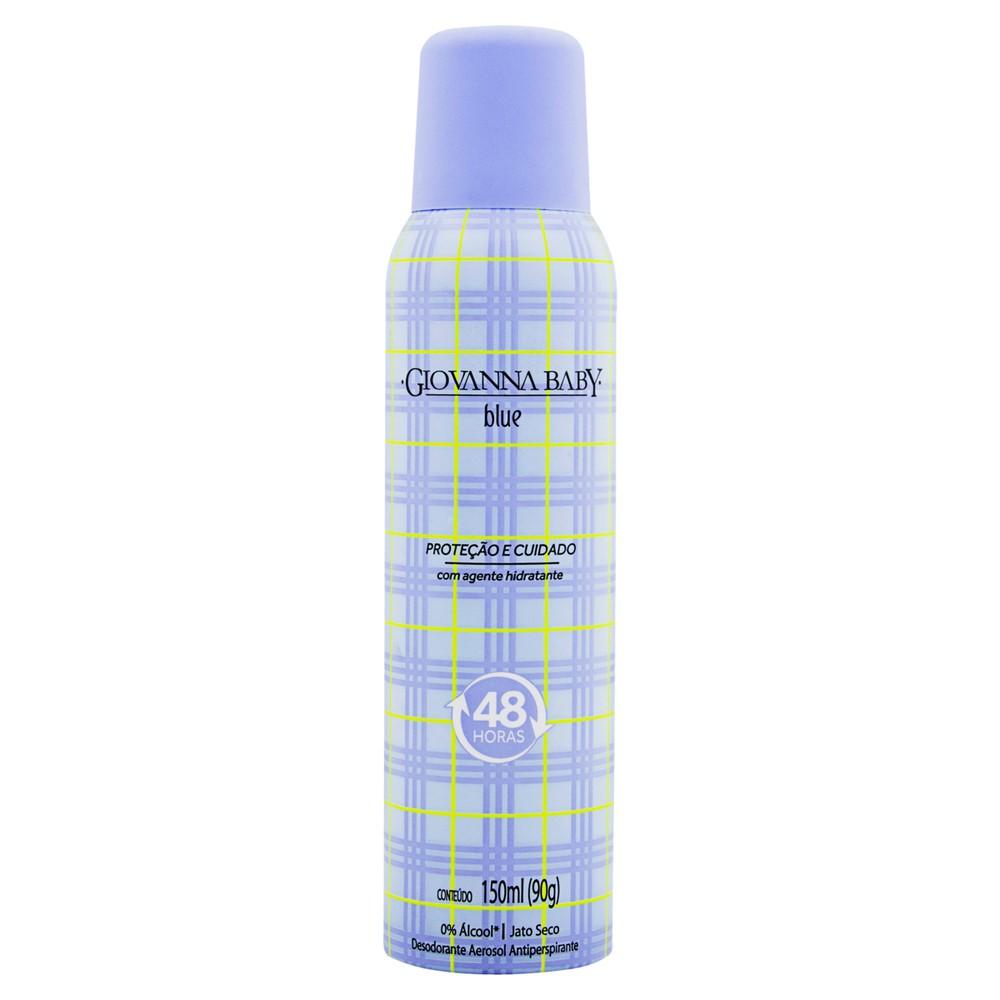 Desodorante aerosol blue