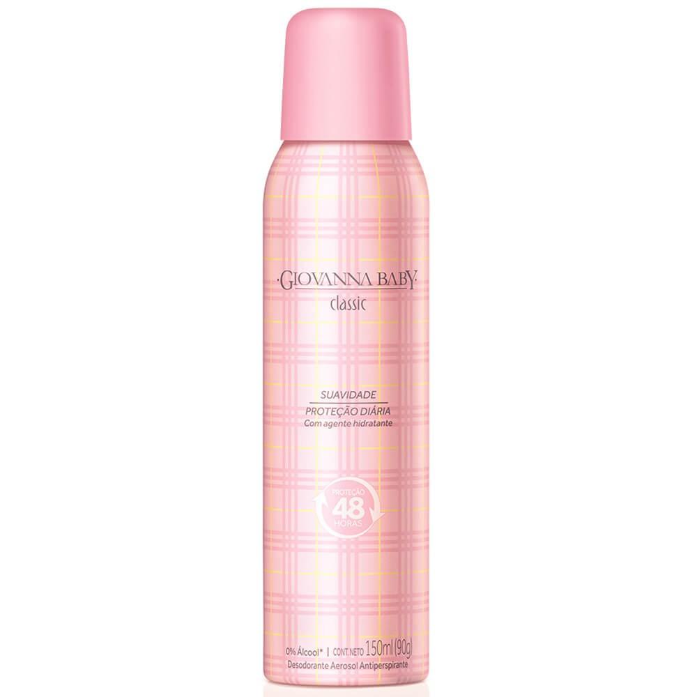 Desodorante aerosol classic