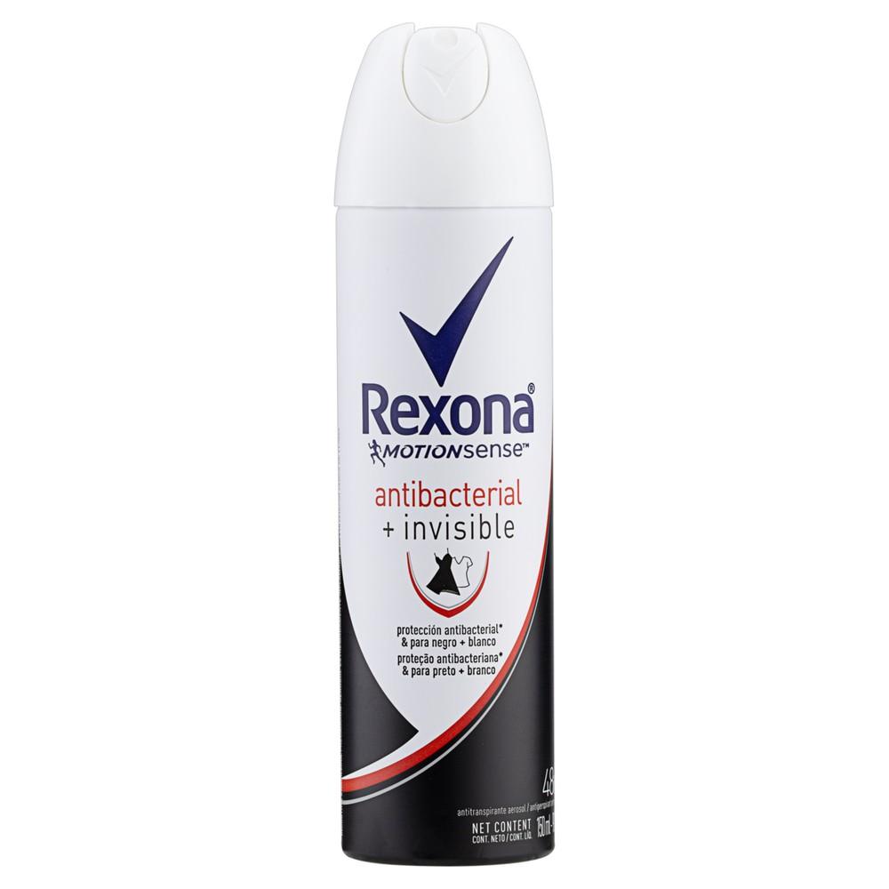 Desodorante aerosol motion sense antibacterial invisible