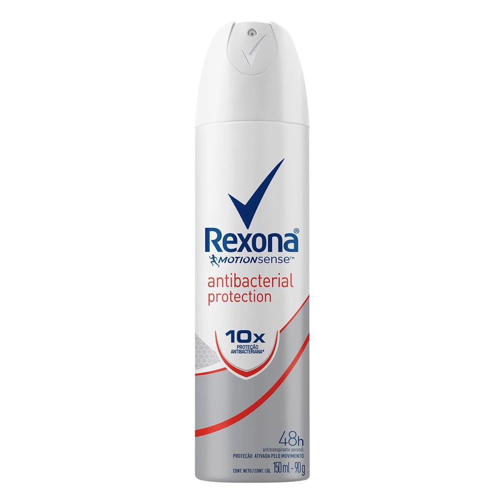 Desodorante aerosol antibacteriano