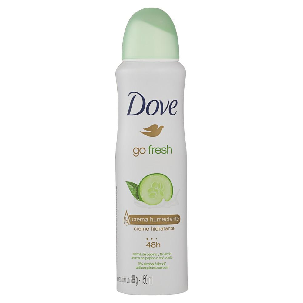 Desodorante aerosol Go fresh pepino e chá verde 150ml