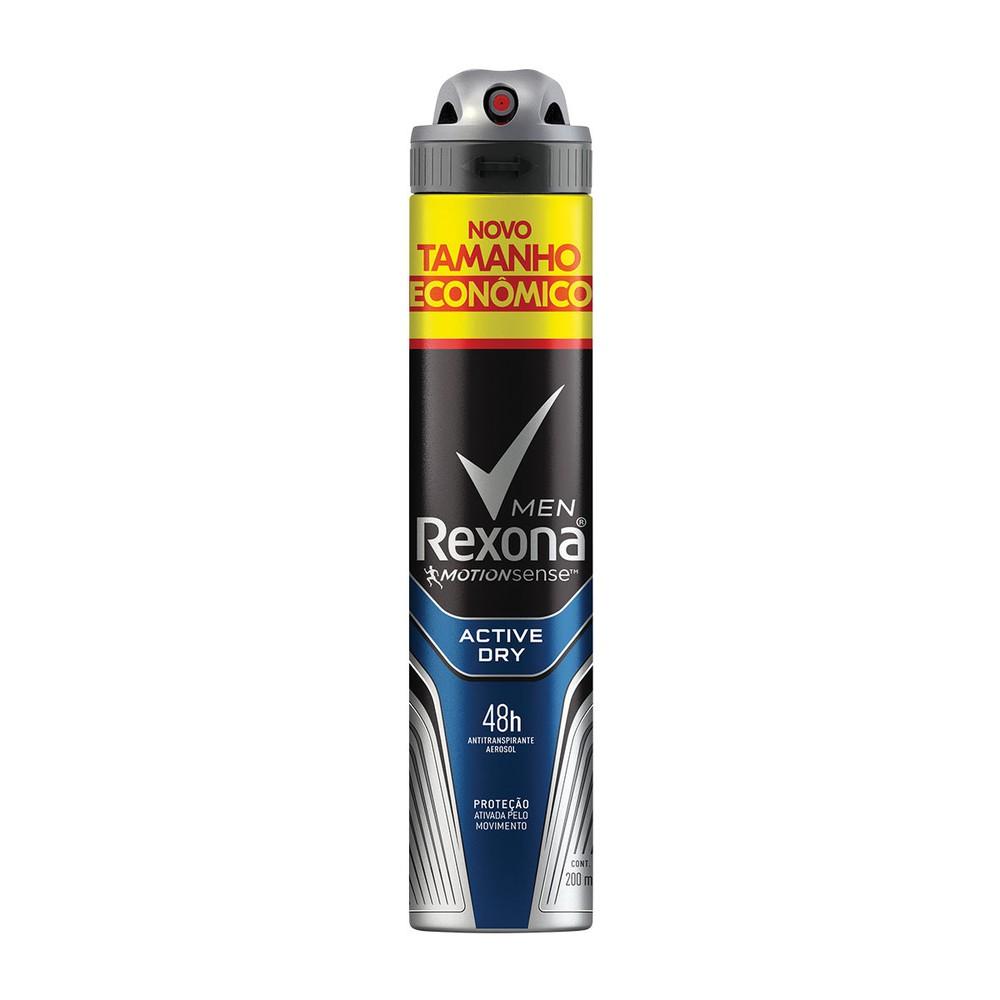 Desodorante aerosol men active dry