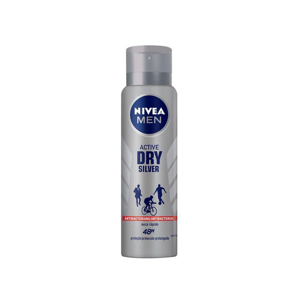 Desodorante aerosol silver protect