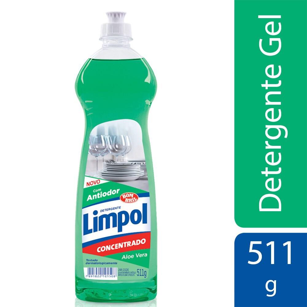 Detergente em gel aloe vera Limpol