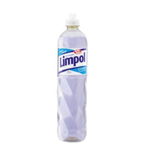 Detergente líquido cristal 500ml