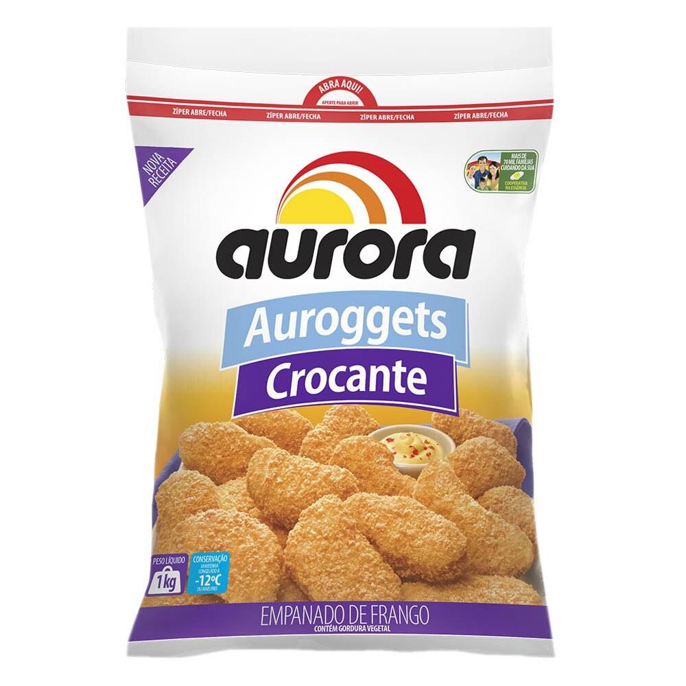 Empanados Auroggets de frango crocante