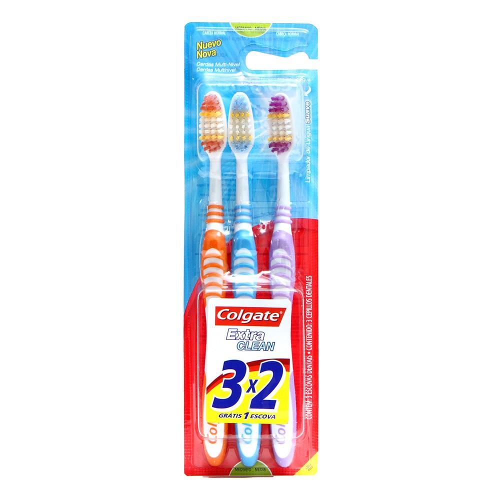 Escova dental extra clean